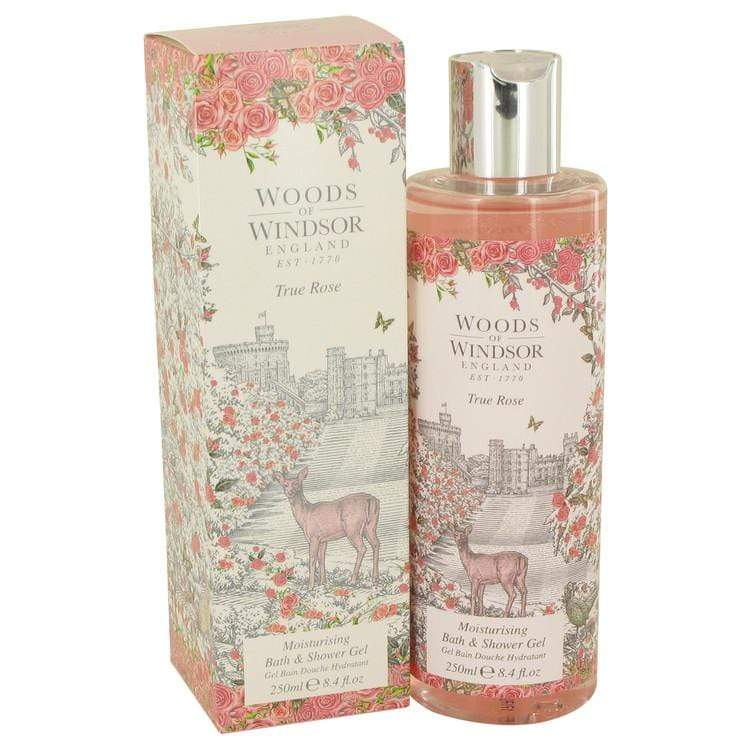 True Rose by Woods of Windsor Shower Gel 8.4 oz for Women - Oliavery