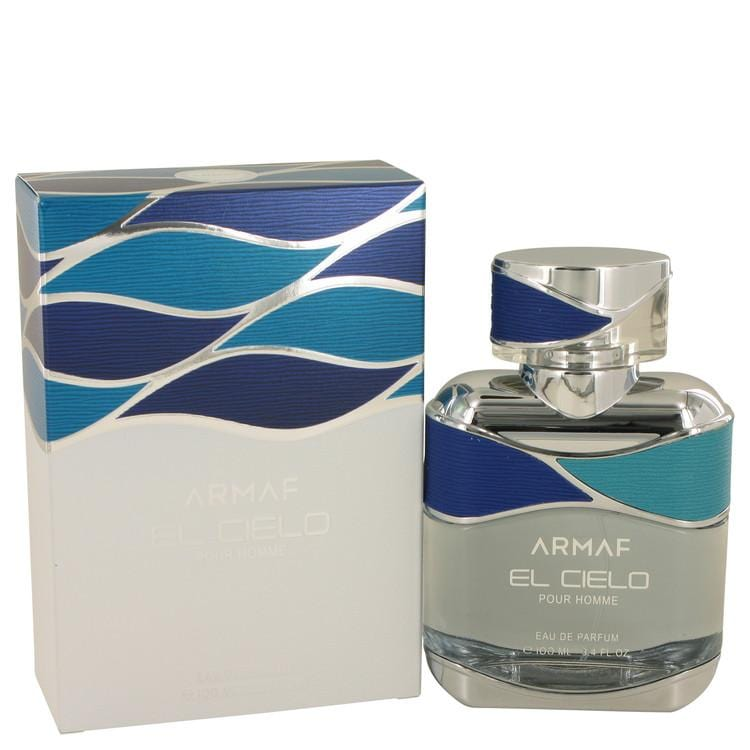 Armaf El Cielo by Armaf Eau De Parfum Spray 3.4 oz for Men - Oliavery