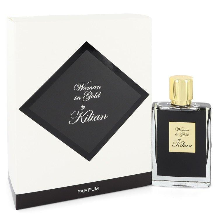 Woman in Gold by Kilian Eau De Parfum Spray Refillable 1.7 oz for Women
