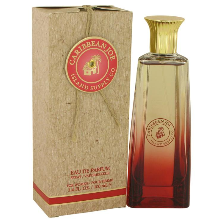 Caribbean Joe Island Supply by Caribbean Joe Eau De Parfum Spray 3.4 oz for Women - Oliavery