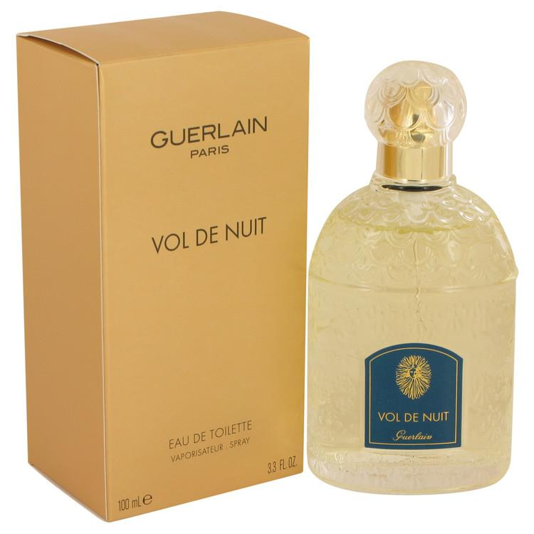 VOL DE NUIT by Guerlain Eau De Toilette Spray 3.3 oz for Women - Oliavery