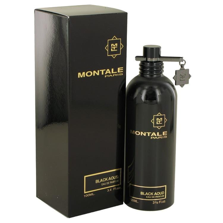 Montale Black Aoud by Montale Eau De Parfum Spray (Unisex) 3.4 oz for Women - Oliavery