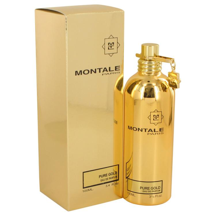 Montale Pure Gold by Montale Eau De Parfum Spray 3.4 oz for Women - Oliavery
