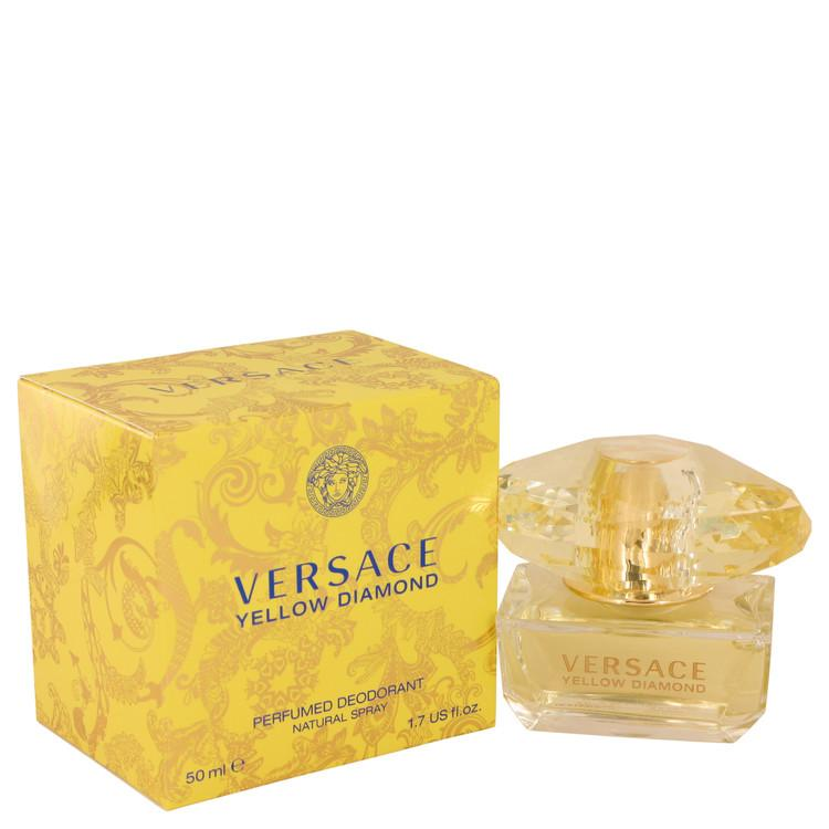 Versace Yellow Diamond by Versace Deodorant Spray 1.7 oz for Women - Oliavery