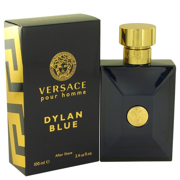 Versace Pour Homme Dylan Blue by Versace After Shave Lotion 3.4 oz for Men - Oliavery