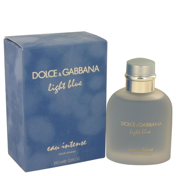 Light Blue Eau Intense by Dolce & Gabbana Eau De Parfum Spray for Men - Oliavery