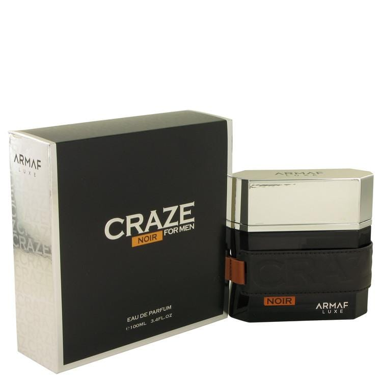 Armaf Craze Noir by Armaf Eau De Parfum Spray 3.4 oz for Men - Oliavery