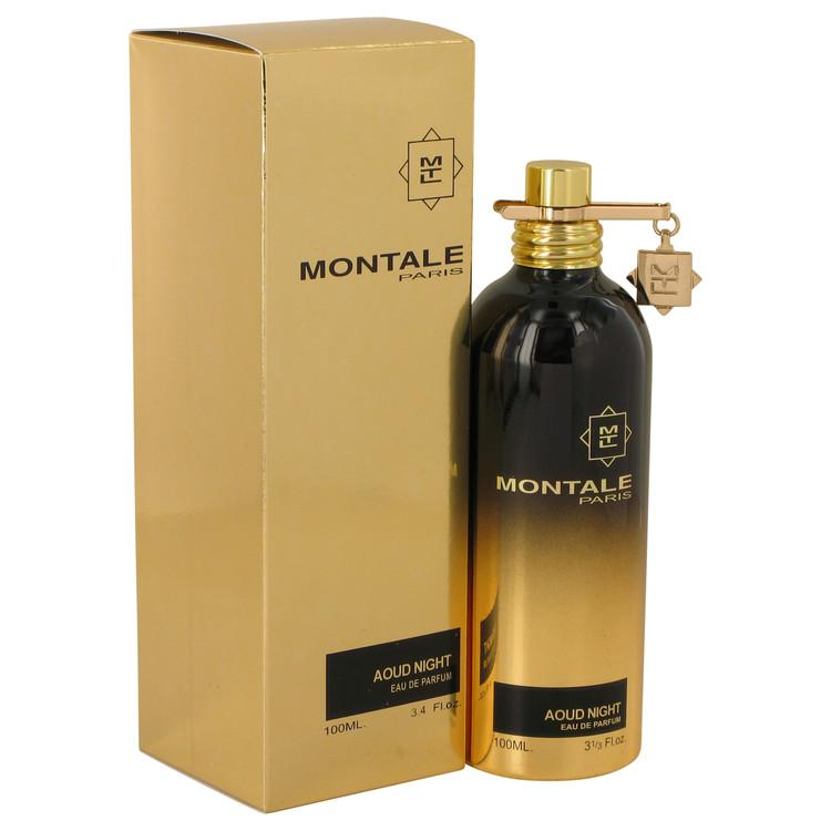Montale Aoud Night by Montale Eau De Parfum Spray (Unisex) 3.4 oz for Women - Oliavery