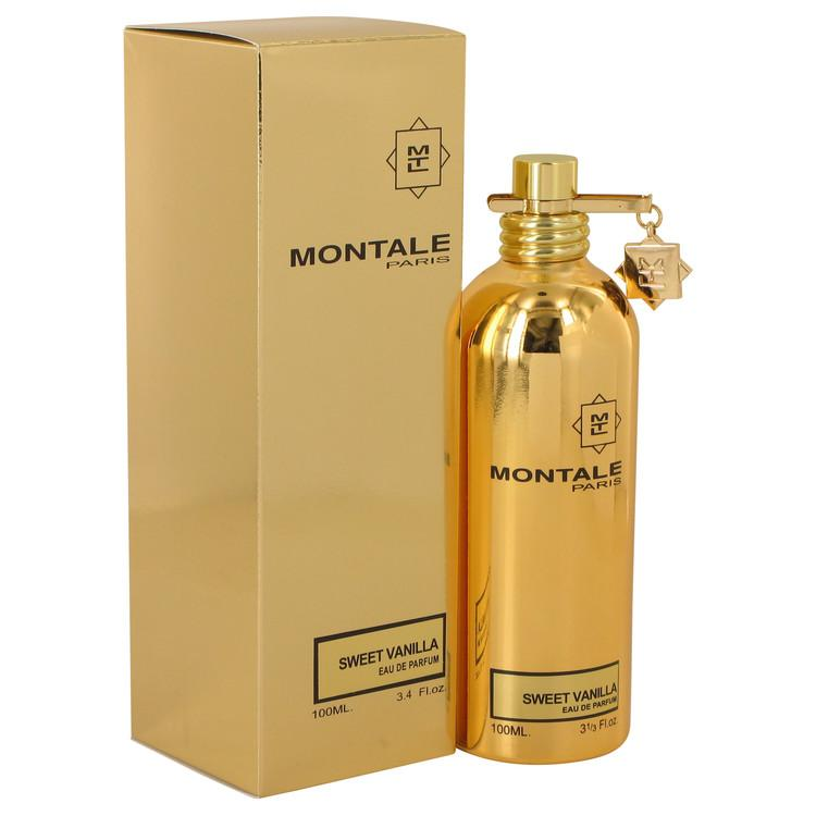 Montale Sweet Vanilla by Montale Eau De Parfum Spray (Unisex) 3.4 oz for Women - Oliavery