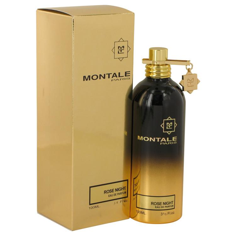 Montale Rose Night by Montale Eau De Parfum Spray (Unisex) 3.4 oz for Women - Oliavery