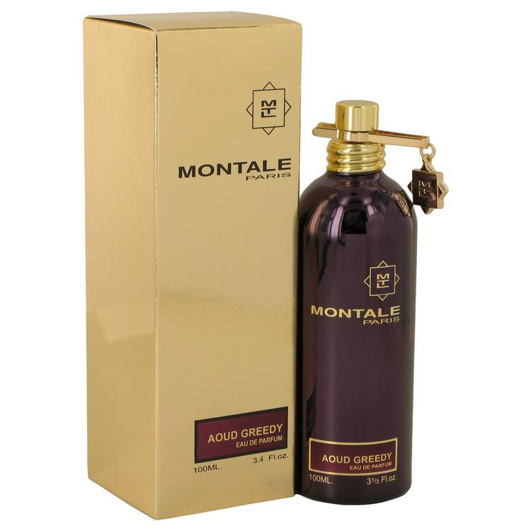 Montale Aoud Greedy by Montale Eau De Parfum Spray (Unisex) 3.4 oz for Women - Oliavery