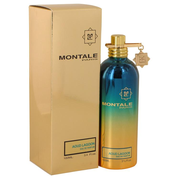 Montale Aoud Lagoon by Montale Eau De Parfum Spray (Unisex) 3.4 oz for Women - Oliavery