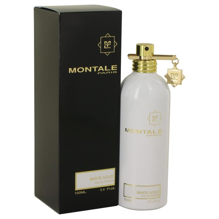 Montale White Aoud by Montale Eau De Parfum Spray (Unisex) 3.4 oz for Women - Oliavery