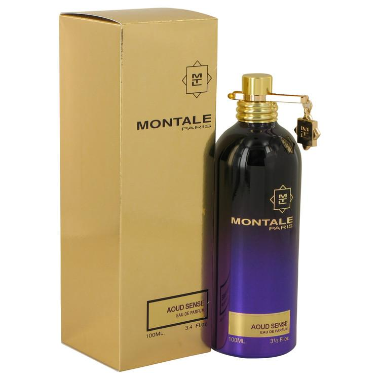 Montale Aoud Sense by Montale Eau De Parfum Spray (Unisex) 3.4 oz for Women - Oliavery