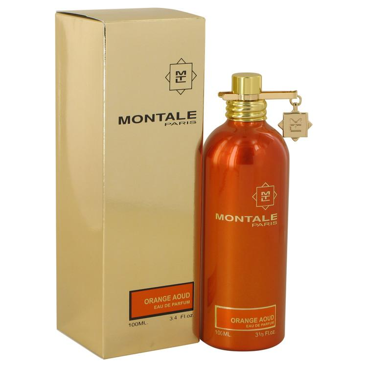 Montale Orange Aoud by Montale Eau De Parfum Spray (Unisex) 3.4 oz for Women - Oliavery