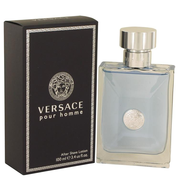 Versace Pour Homme by Versace After Shave Lotion 3.4 oz for Men - Oliavery