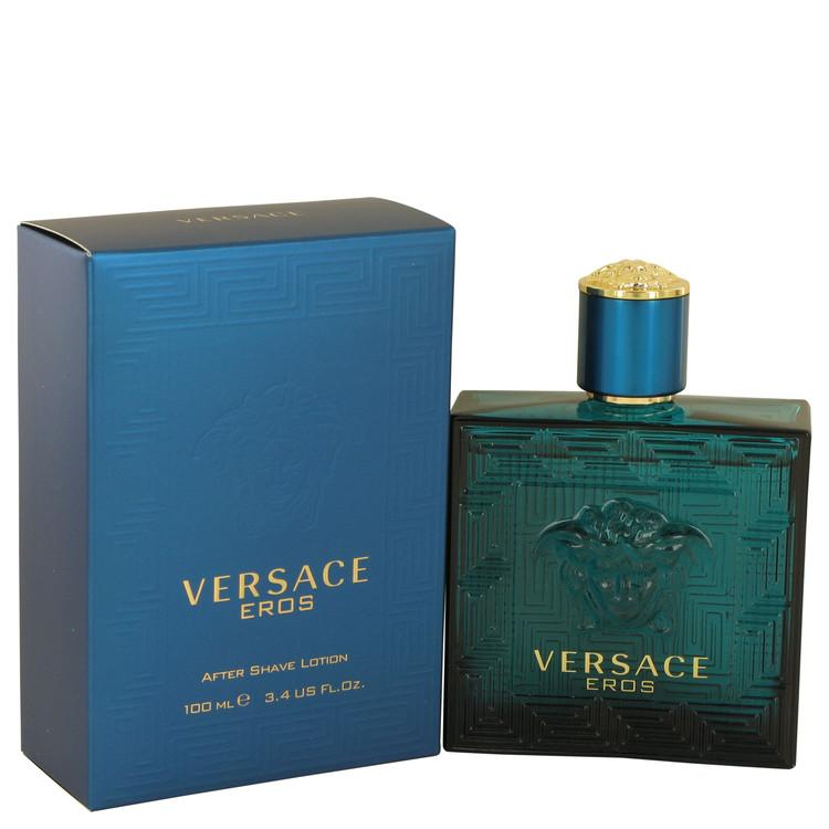 Versace Eros by Versace After Shave Lotion 3.4 oz for Men - Oliavery