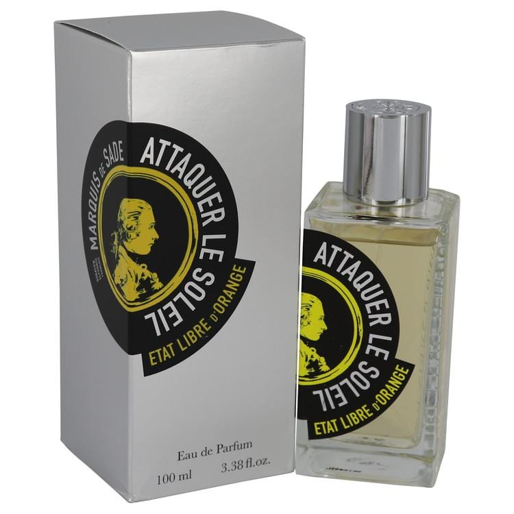 Marquis De Sade Attaquer Le Soleil by Etat Libre d'Orange Eau De Parfum Spray (Unisex) 3.38 oz for Women - Oliavery