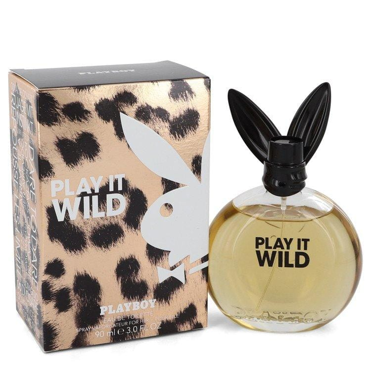 Playboy Play It Wild by Playboy Eau De Toilette Spray 3 oz for Women - Oliavery
