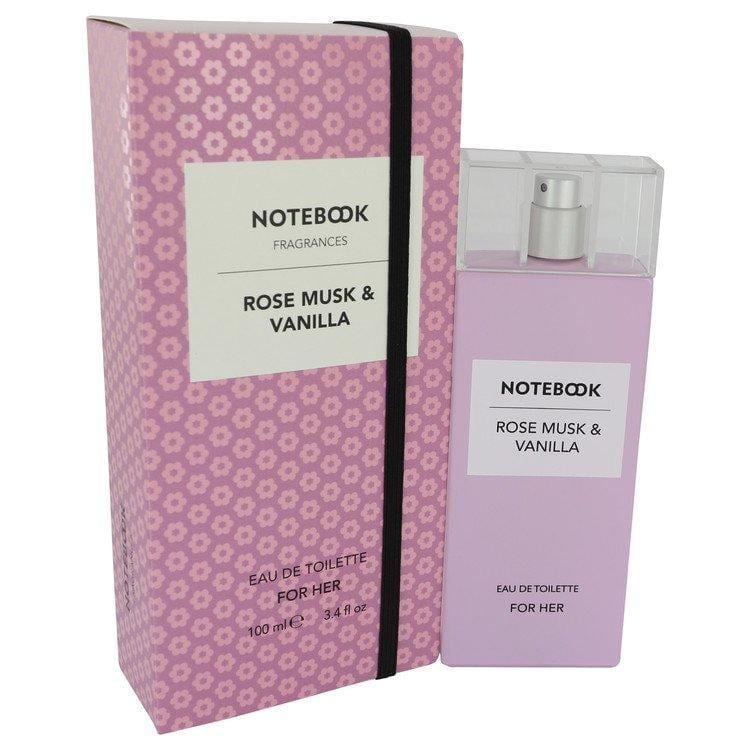 Notebook Rose Musk & Vanilla by Selectiva SPA Eau De Toilette Spray 3.4 oz for Women - Oliavery