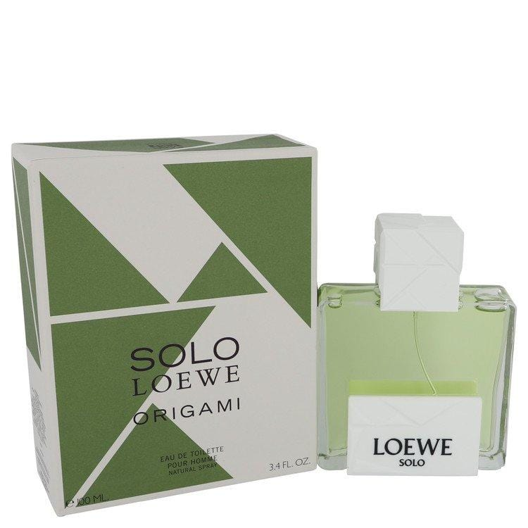 Solo Loewe Origami by Loewe Eau De Toilette Spray 3.4 oz for Men - Oliavery