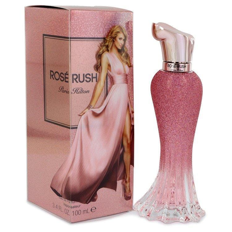 Paris Hilton Rose Rush by Paris Hilton Eau De Parfum Spray 3.4 oz for Women - Oliavery