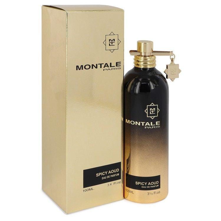 Montale Spicy Aoud by Montale Eau De Parfum Spray (Unisex) 3.4 oz for Women - Oliavery