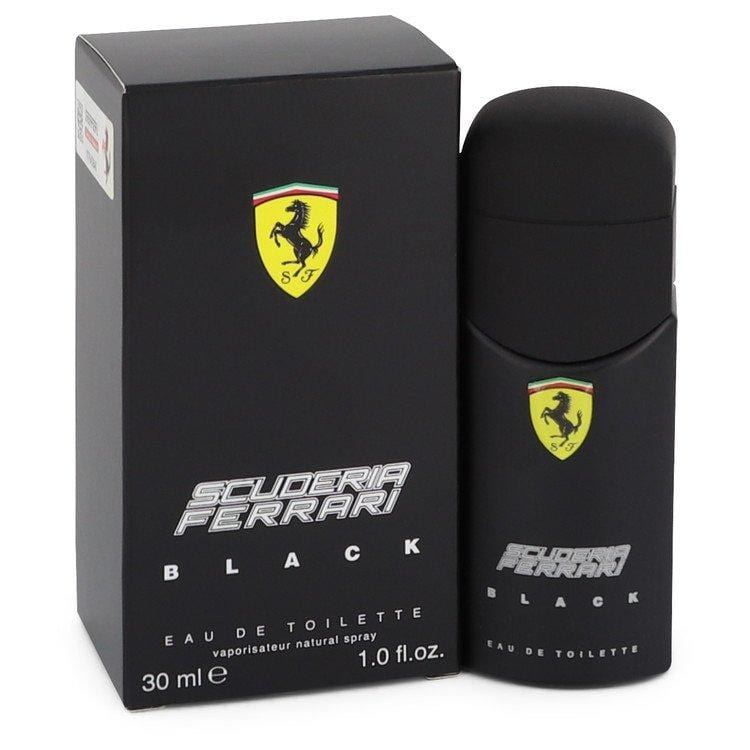 Ferrari Scuderia Black by Ferrari Eau De Toilette Spray 1 oz for Men - Oliavery