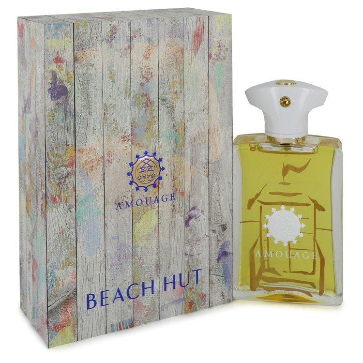 Amouage Beach Hut by Amouage Eau De Parfum Spray 3.4 oz for Men - Oliavery
