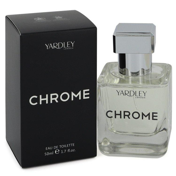 Yardley Chrome by Yardley London Eau De Toilette Spray 1.7 oz for Men
