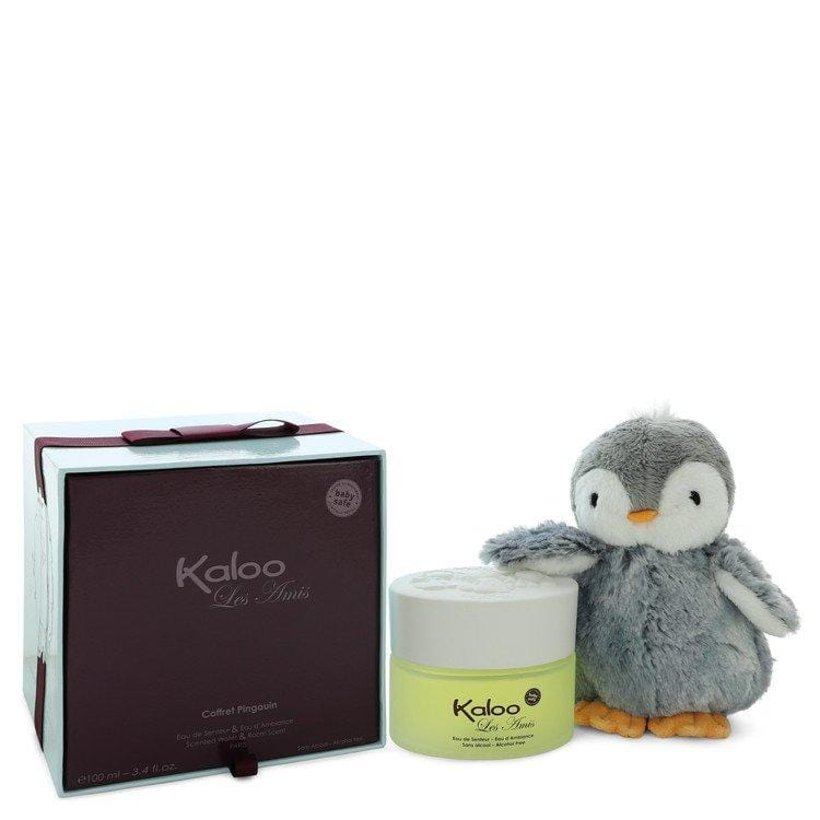 Kaloo Les Amis by Kaloo Alcohol Free Eau D'ambiance Spray + Free Penguin Soft Toy 3.4 oz for Men - Oliavery