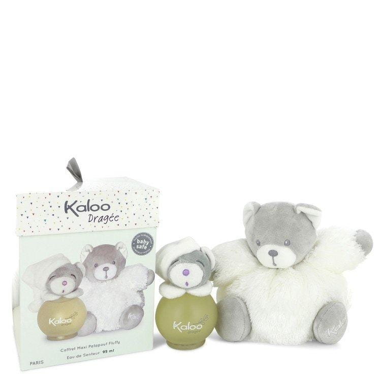 Kaloo Dragee by Kaloo Eau De Senteur Spray (Alcohol Free) + Free Fluffy Bear 3.2 oz for Men - Oliavery