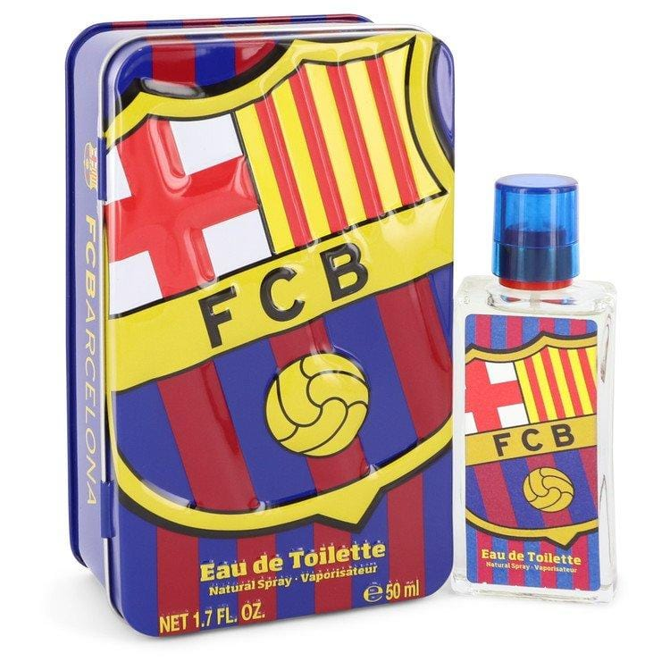FC Barcelona by Air Val International Eau De Toilette Spray for Men - Oliavery