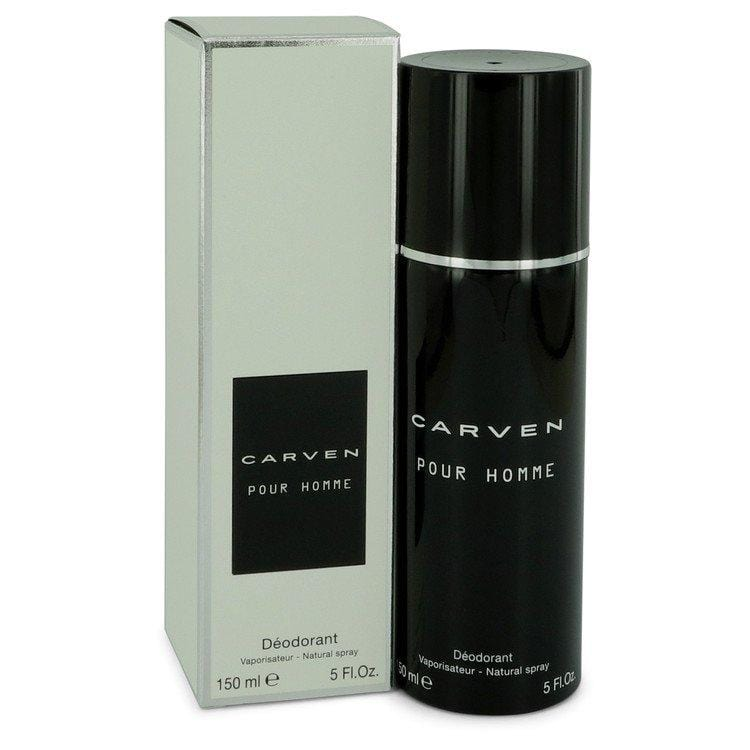 Carven Pour Homme by Carven Deodorant Spray 5 oz for Men - Oliavery