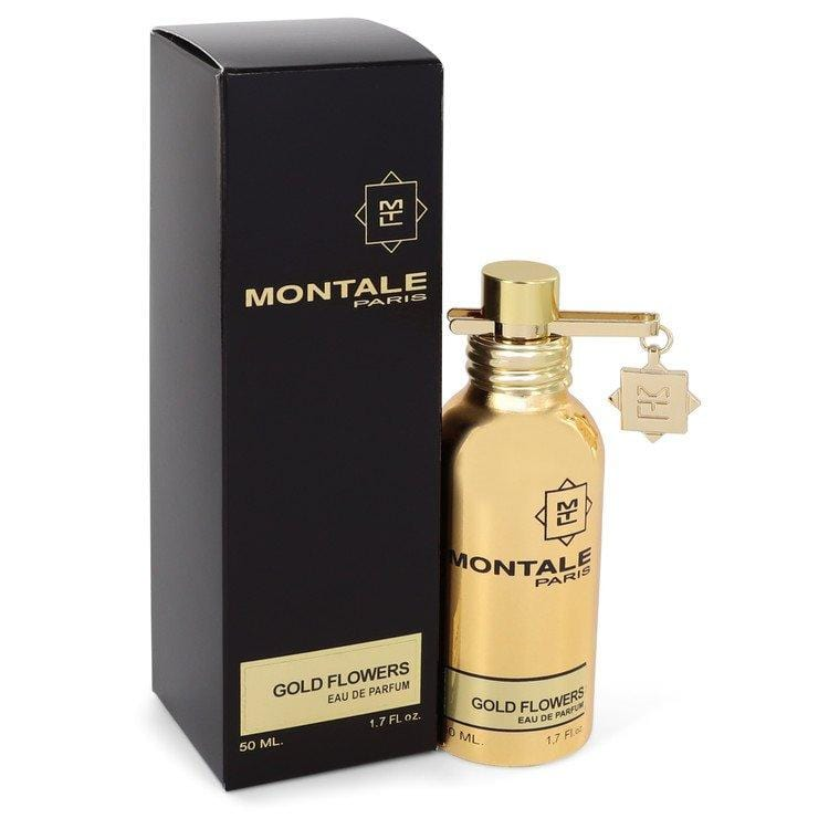 Montale Gold Flowers by Montale Eau De Parfum Spray 1.7 oz for Women - Oliavery