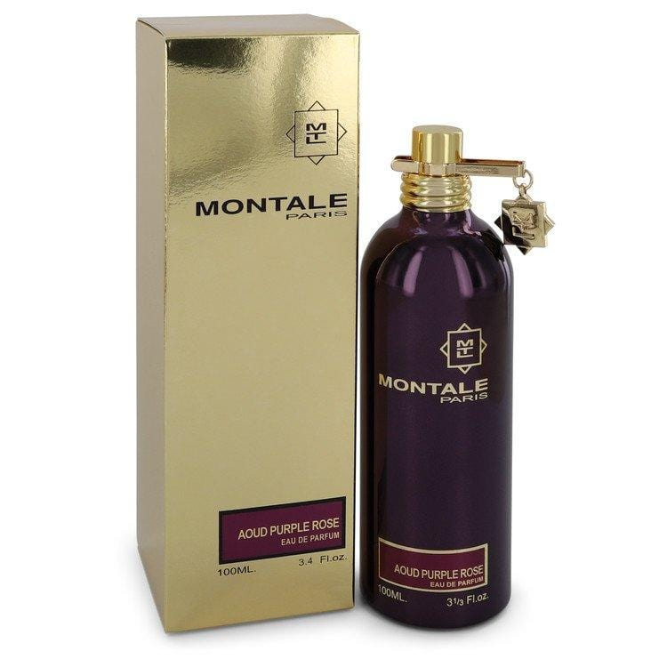 Montale Aoud Purple Rose by Montale Eau De Parfum Spray (Unisex) 3.4 oz for Women - Oliavery