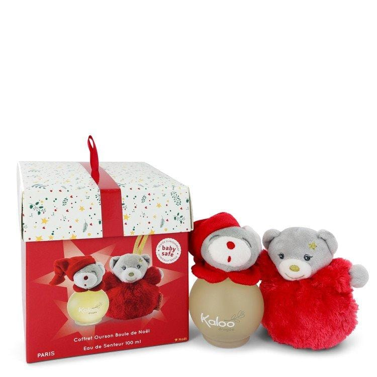 Kaloo Christmas by Kaloo Eau De Senteur Spray + Free Christmas Ball Bear 3.4 oz for Women - Oliavery
