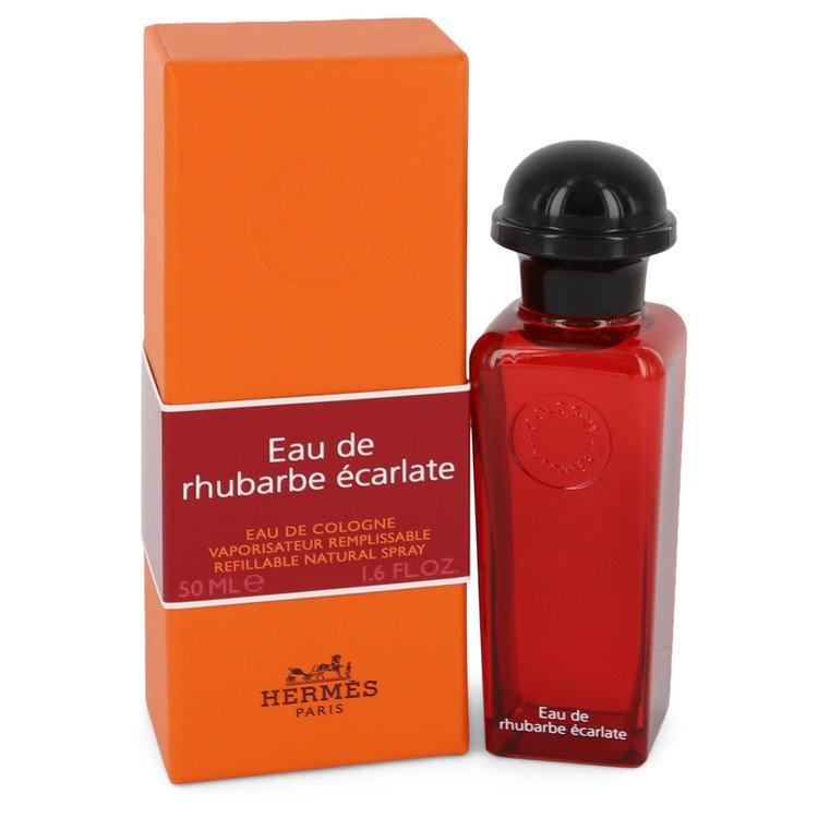 Eau De Rhubarbe Ecarlate by Hermes Eau De Cologne Spray for Men