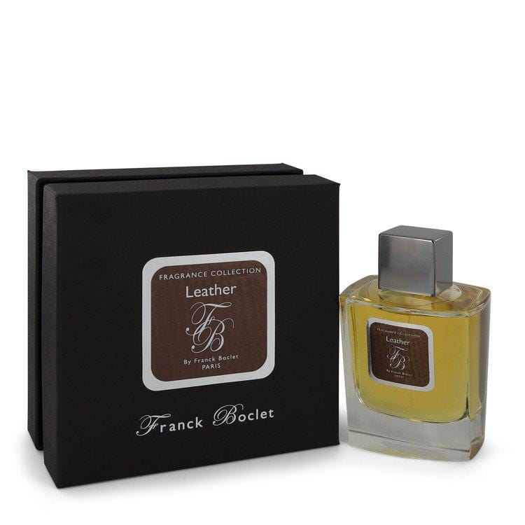 Franck Boclet Leather by Franck Boclet Eau De Parfum Spray 3.4 oz for Men - Oliavery