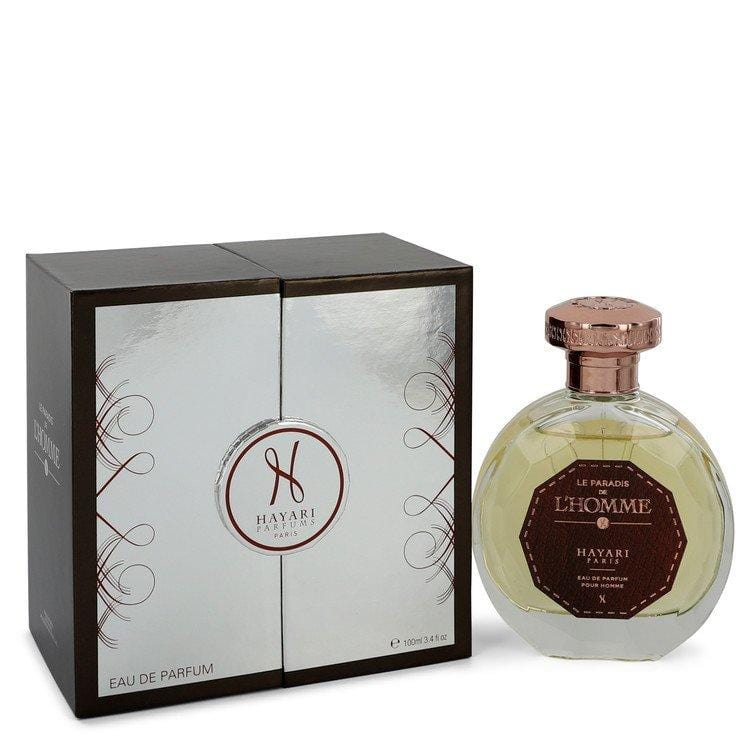 Hayari Le Paradis De L'homme by Hayari Eau De Parfum Spray 3.4 oz for Men - Oliavery