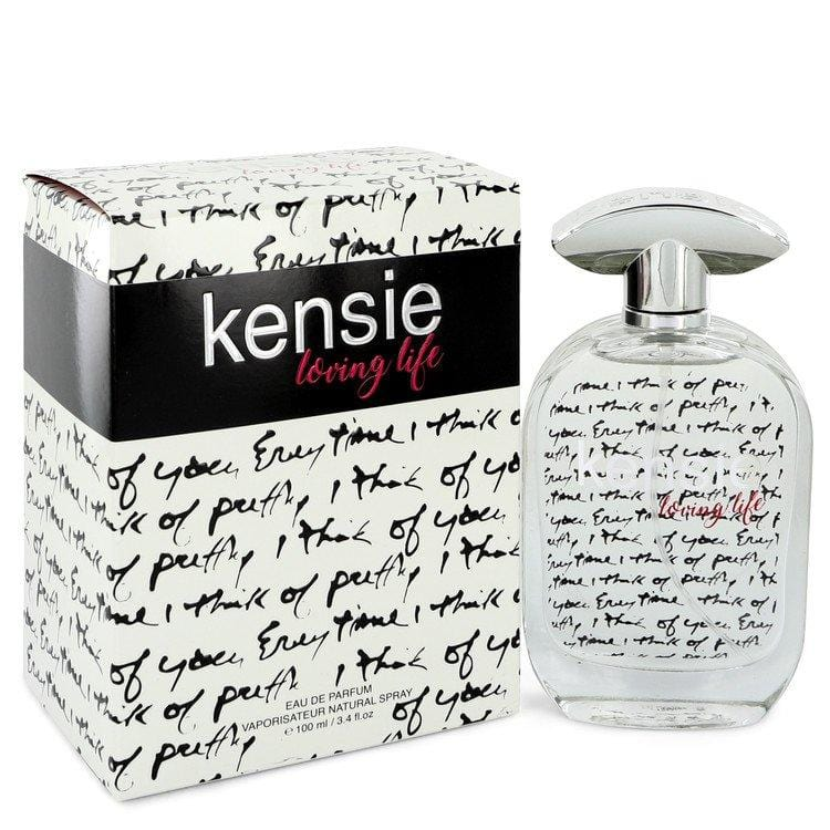 Kensie Loving Life by Kensie Eau De Parfum Spray 3.4 oz for Women - Oliavery