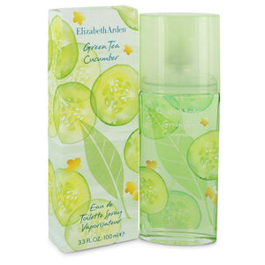 Green Tea Cucumber by Elizabeth Arden Eau De Toilette Spray 3.3 oz for Women - Oliavery