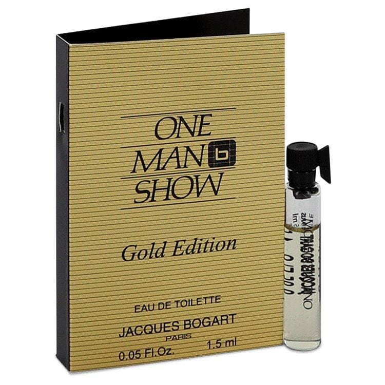 One Man Show Gold by Jacques Bogart Vial (sample) .05 oz for Men - Oliavery