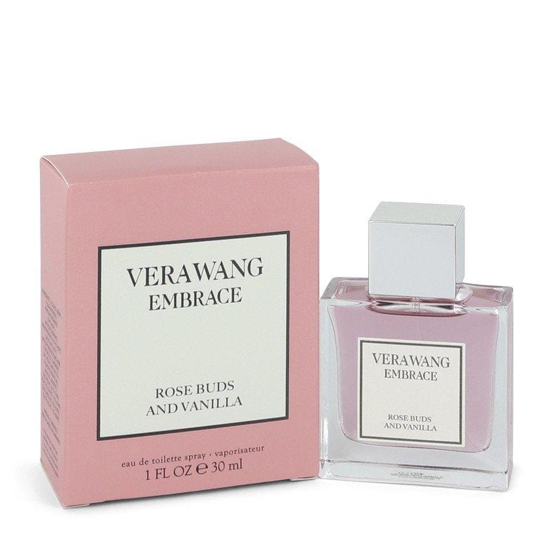 Vera Wang Embrace Rose Buds And Vanilla by Vera Wang Eau De Toilette Spray 1 oz for Women - Oliavery