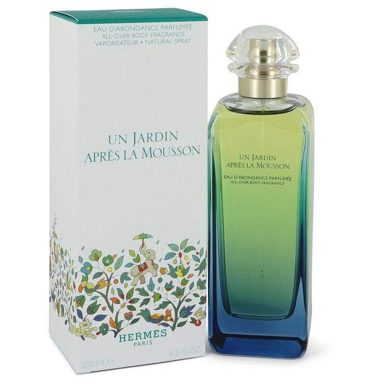 Un Jardin Apres La Mousson by Hermes All Over Body Spray (Unisex) 6.5 oz for Men - Oliavery