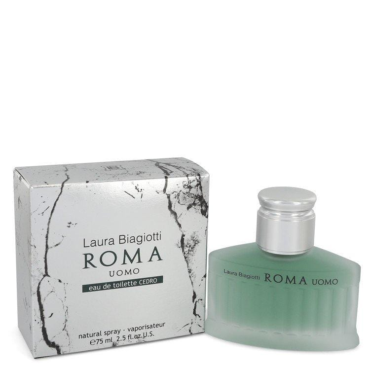Roma Uomo Cedro by Laura Biagiotti Eau De Toilette Spray 2.5 oz for Men - Oliavery