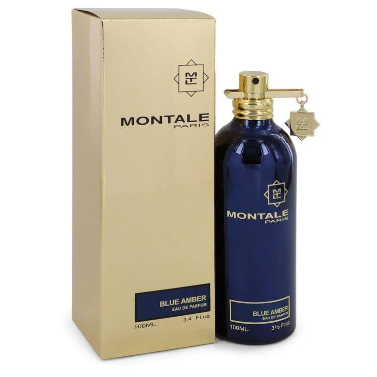Montale Blue Amber by Montale Eau De Parfum Spray (Unisex) 3.4 oz for Women - Oliavery