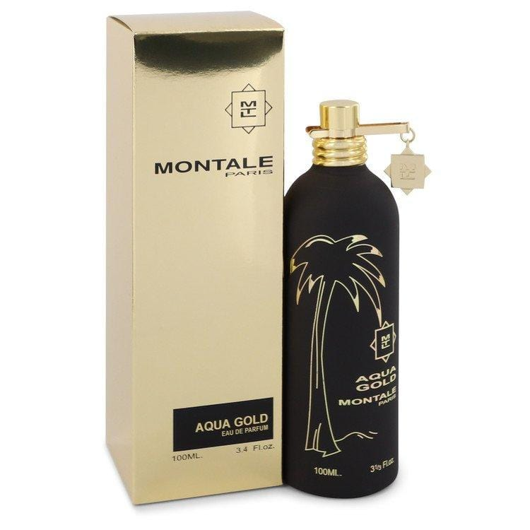 Montale Aqua Gold by Montale Eau De Parfum Spray 3.4 oz for Women - Oliavery