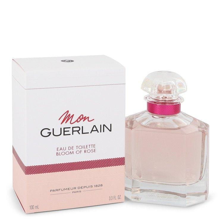 Mon Guerlain Bloom of Rose by Guerlain Eau De Toilette Spray 3.3 oz for Women - Oliavery