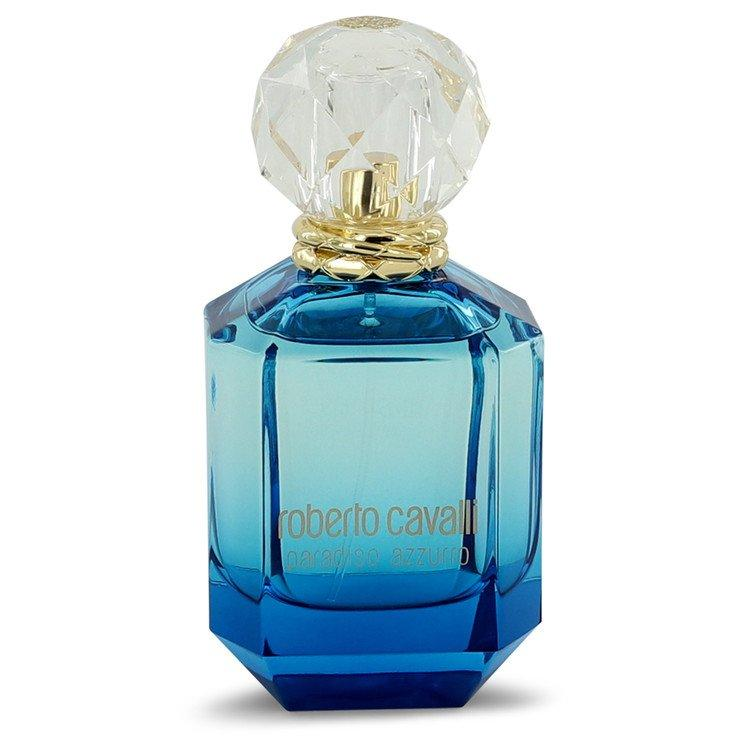 Roberto Cavalli Paradiso Azzurro by Roberto Cavalli Eau De Parfum Spray (unboxed) 2.5 oz  for Women - Oliavery